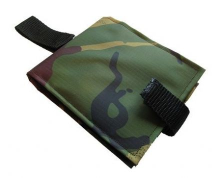 Portable Communication Book - Jungle Camouflage